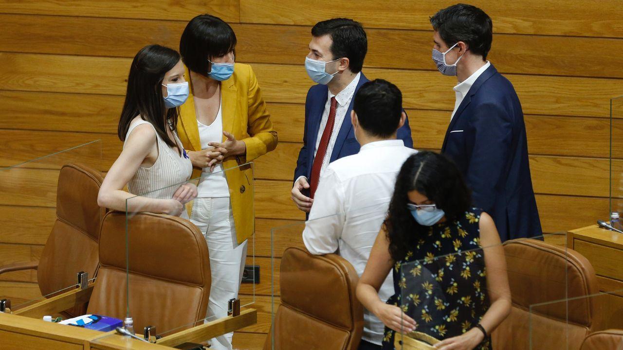 Debido a las medidas anticovid, no se ha permitido la asistencia de invitados que puedan presenciar la sesión consitutiva