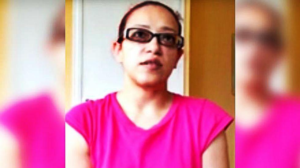 Araminta González. Simpatizante de Voluntad Popular. Tras acoger a dos manifestantes en el 2014, fue acusada de querer fabricar una bomba y detenida. Su novio está desaparecido.