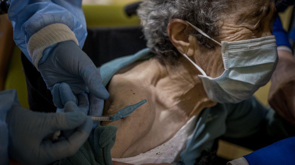 Continúa en Ourense la campaña de vacunación del coronavirus
