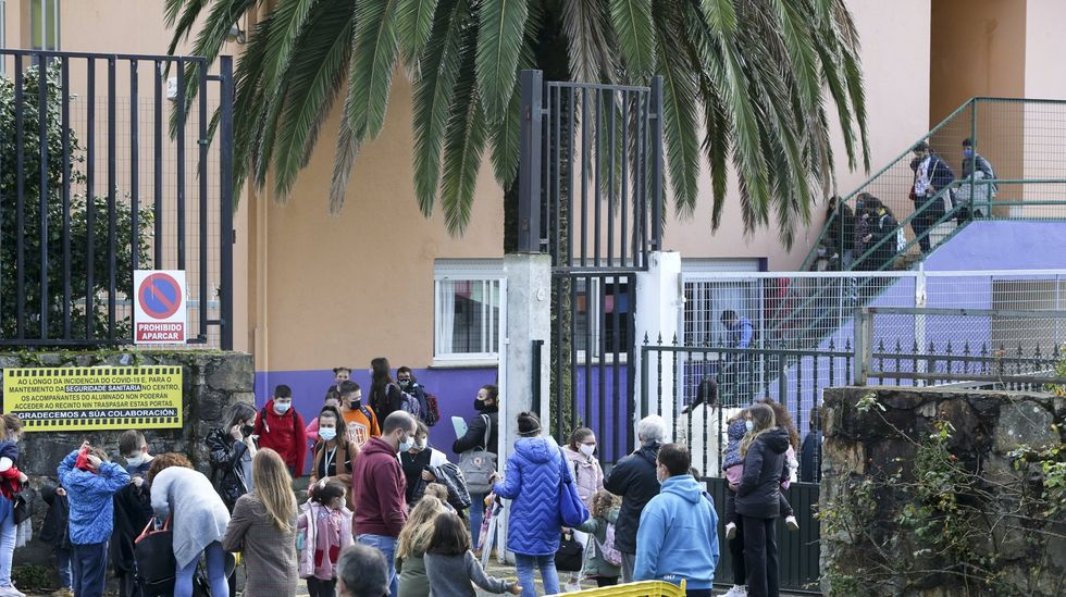 El colegio Isaac Peral, en foto de archivo, tiene un aula cerrada