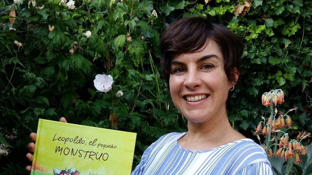 Estefanía Padullés nació en los Pirineos catalanes pero está afincada en Paradela