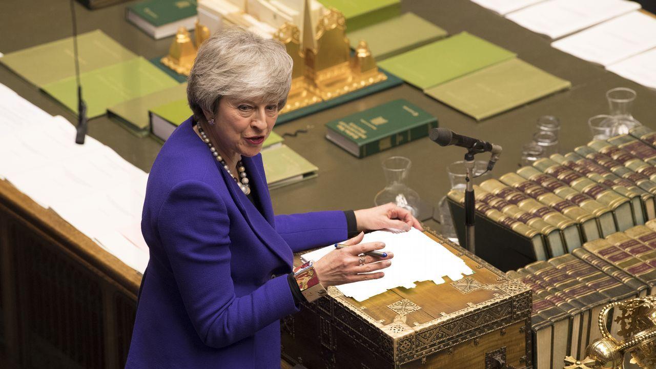 Theresa May visita hoy Irlanda del Norte para intentar llegar a una acuerdo sobre la frontera