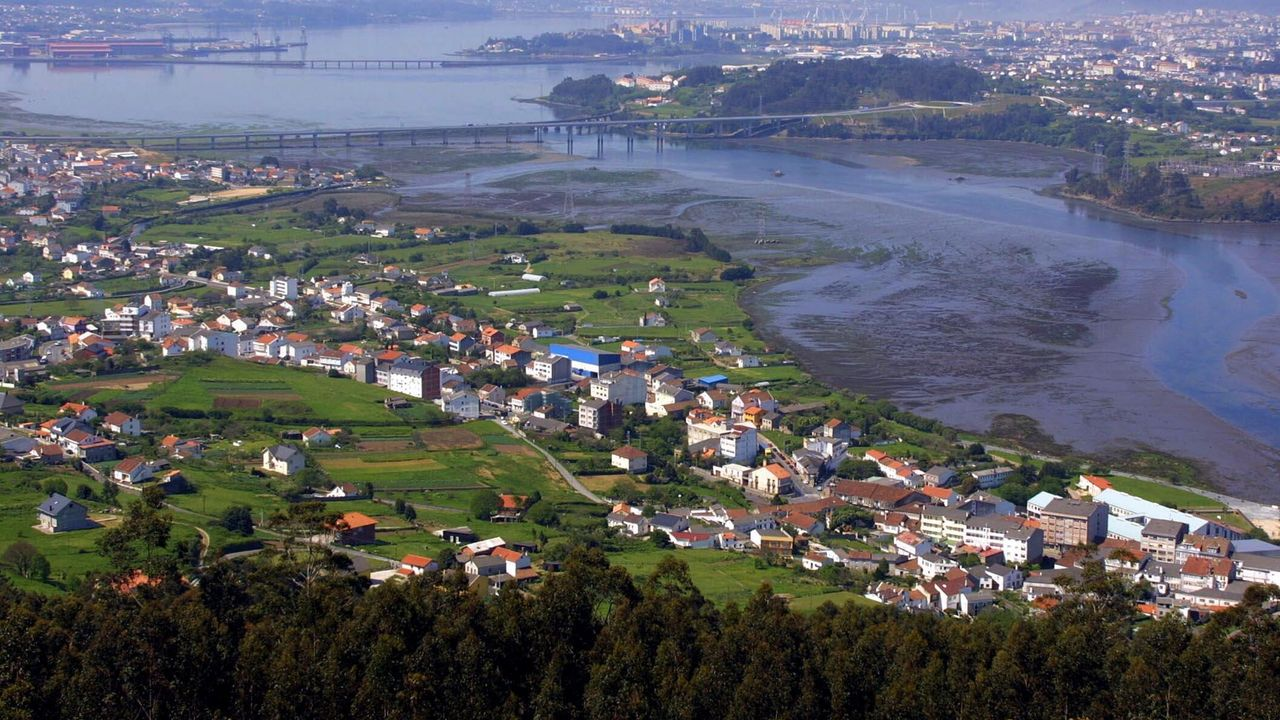 Zona rural de Gijón