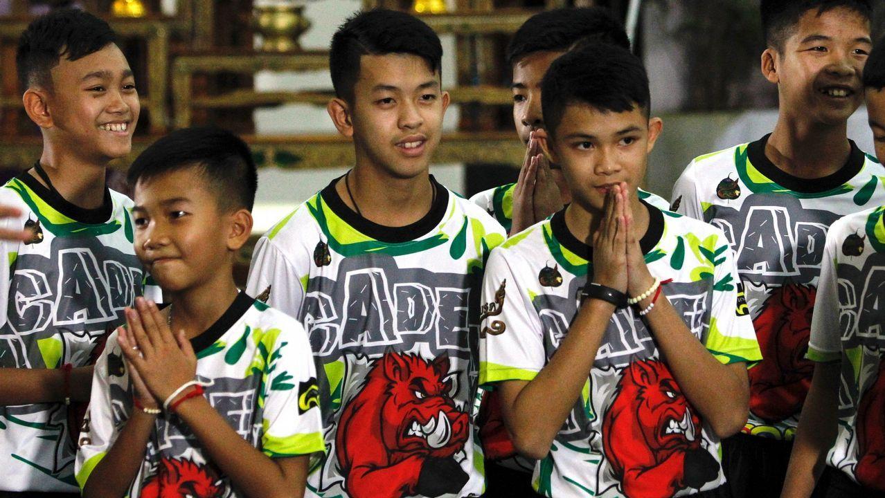 Los niños de la cueva de Tailandia cuentan su versión