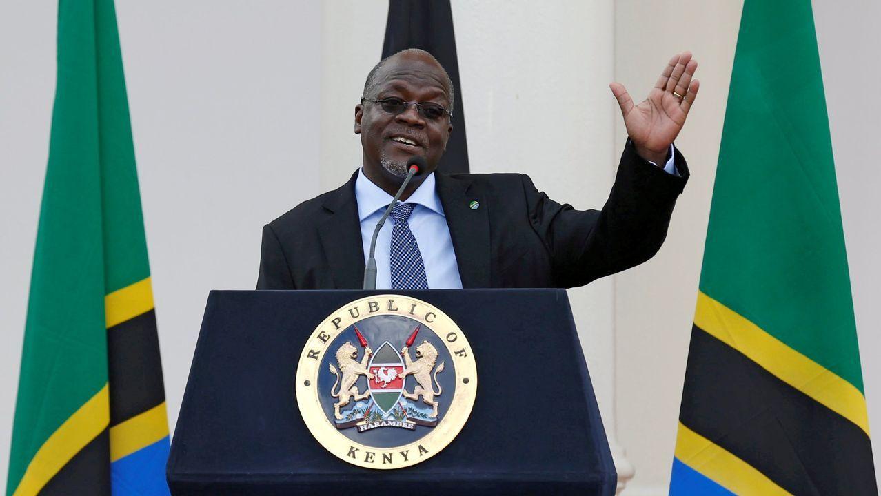 El turismo se despereza en el mundo.El presidente de Tanzania, John Magufuli