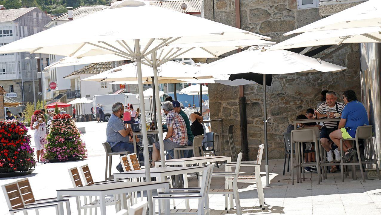 Imagen de Porto do Son, concello que ha experimentado una gran mejoría y el sábado descenderá al nivel bajo de restricciones