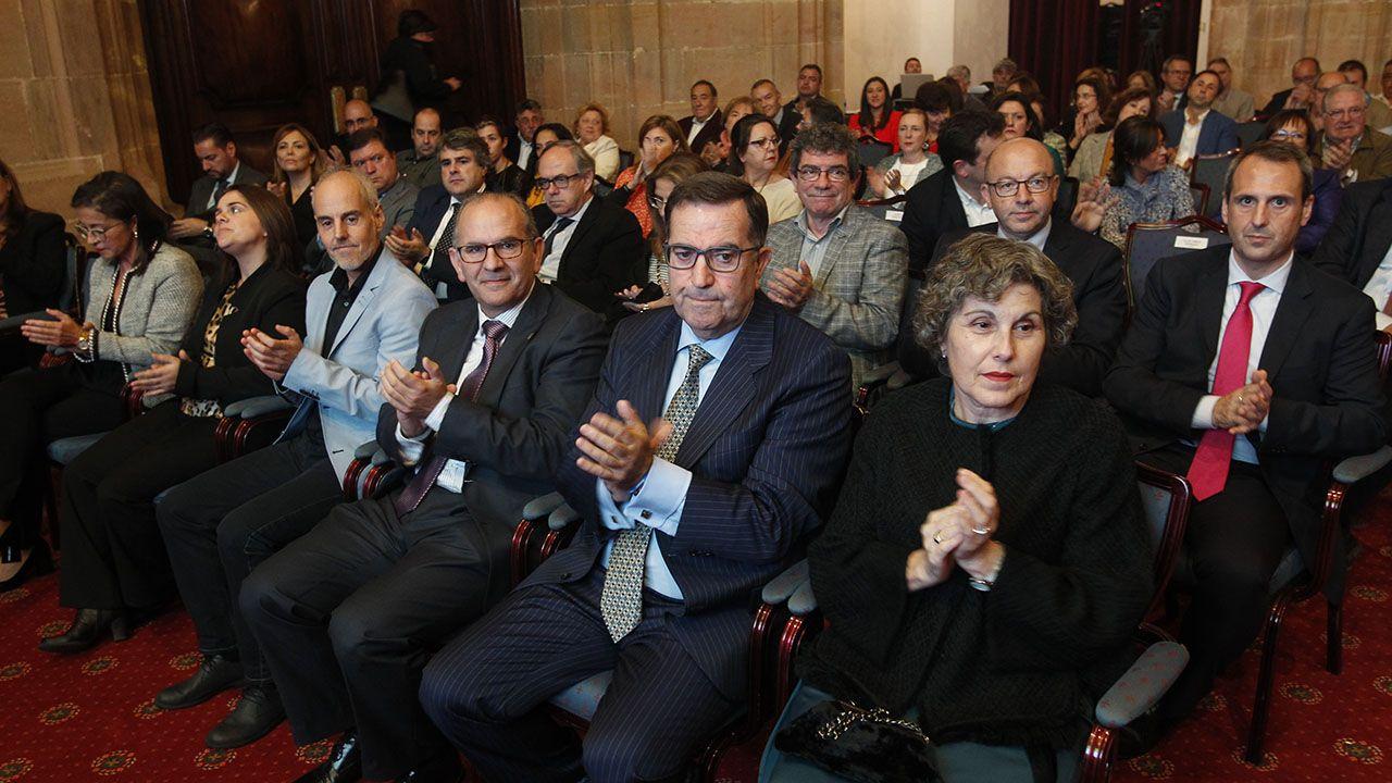 Asistentes a la entrega de los Premios ASATA 2018