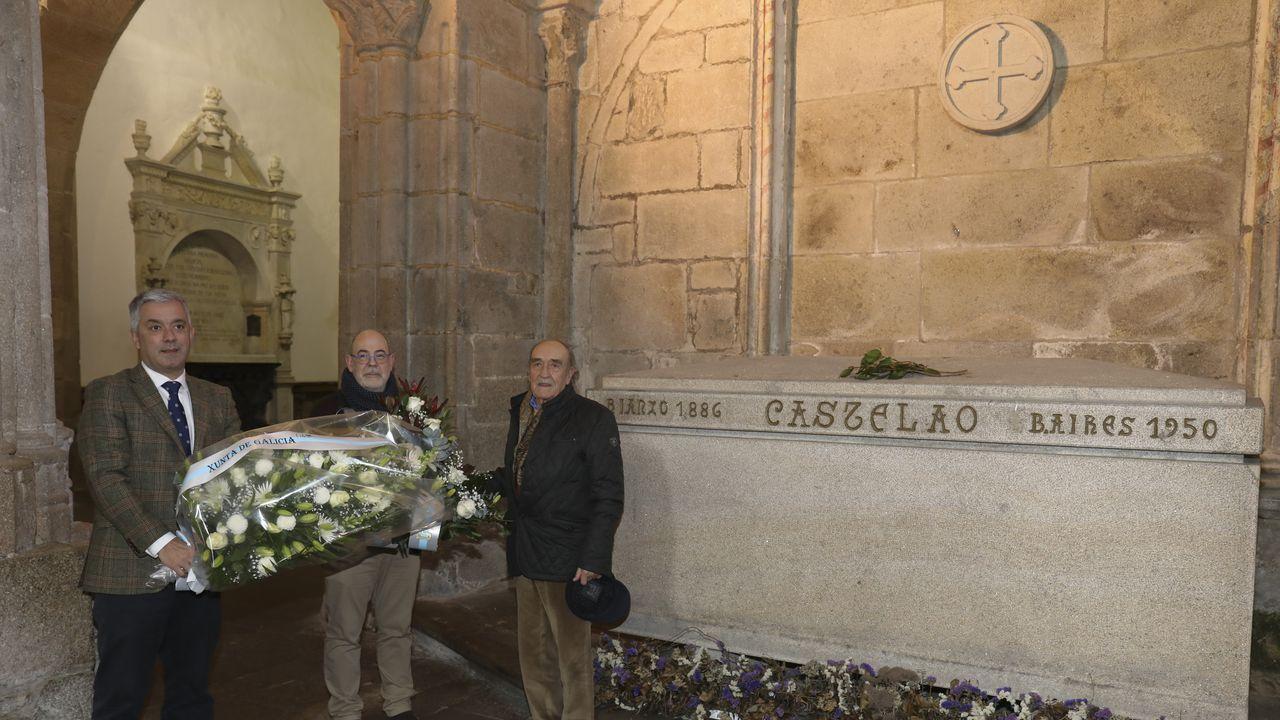 O BNG lembrou a Castelao en Rianxo polo seu 70 cabodano.Acto de Vox en Pontevedra