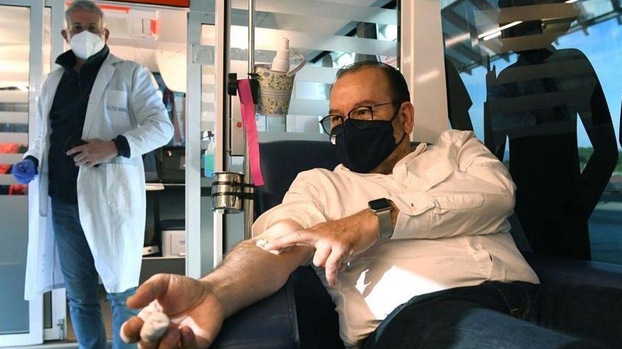 Unidad de donación de sangre