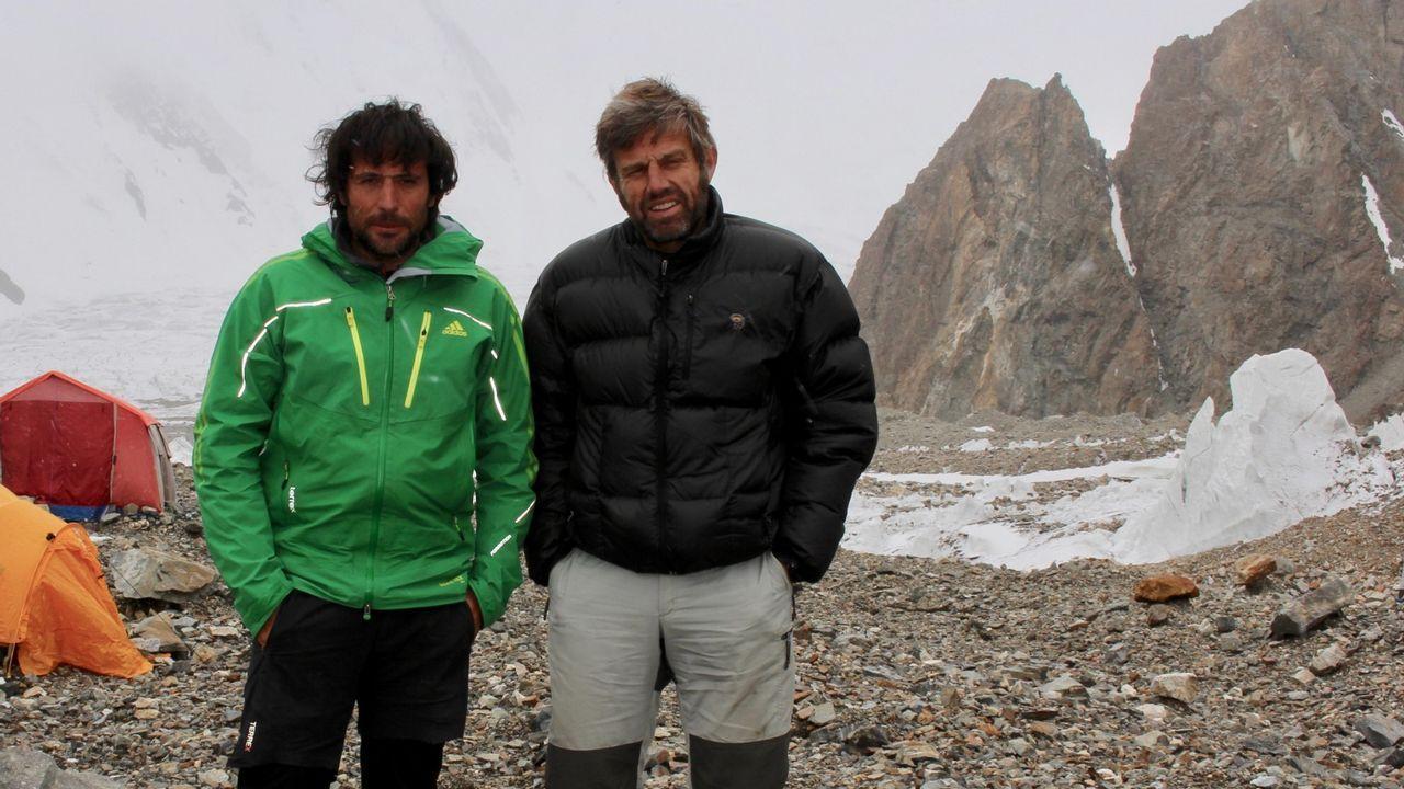 La otra aventura de Félix Criado y Txikon en el K2