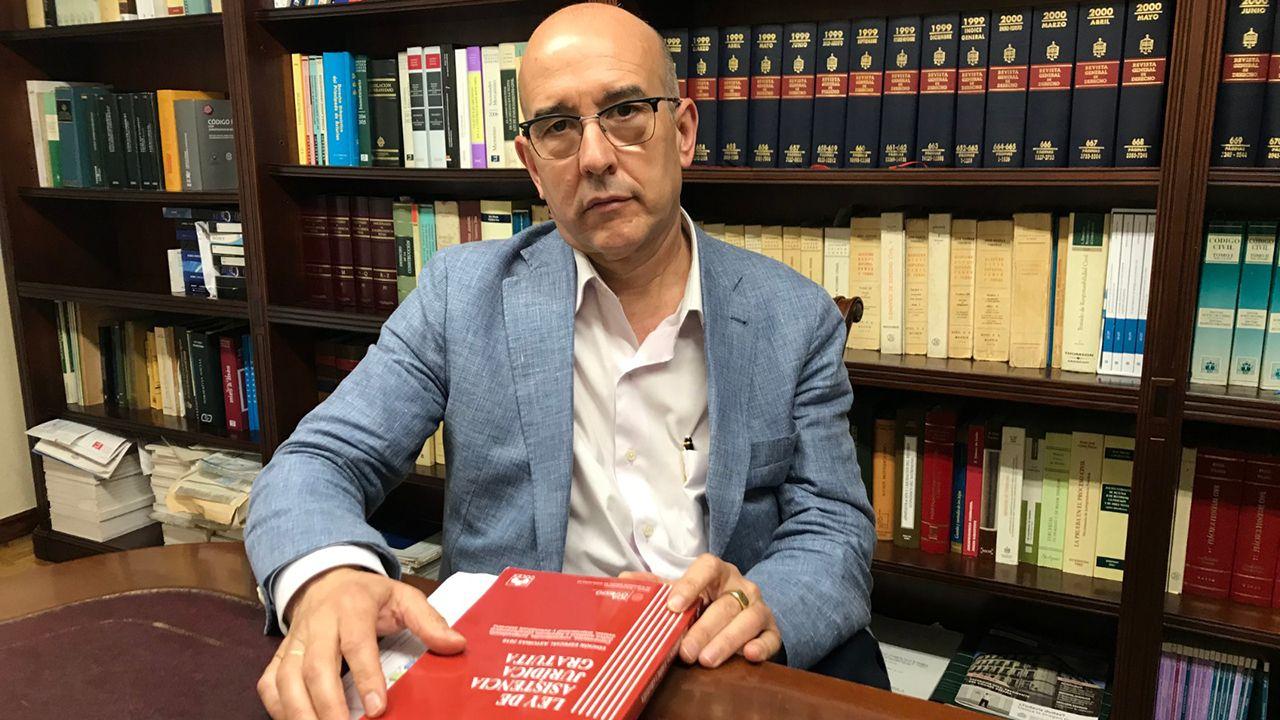 Eulalio Llaneza, presidente de la Comisión de Turno de Oficio