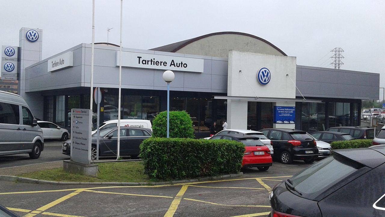 Instalaciones del concesionario de Volkswagen de Tartiere Auto