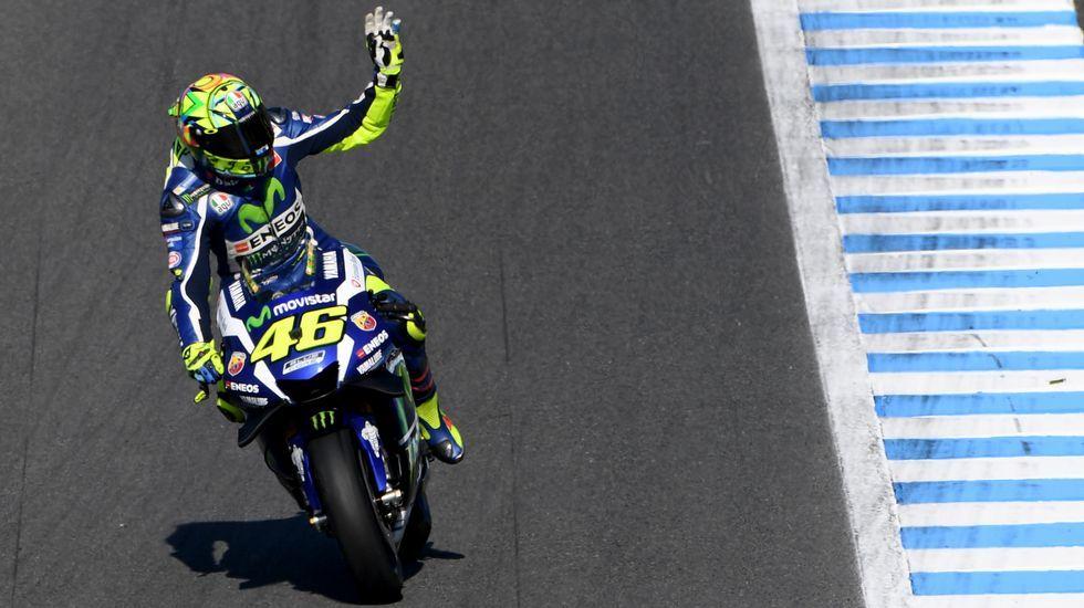Márquez, tricampeón del mundo.Melandri, tras Biaggi, regresa al Mundial.