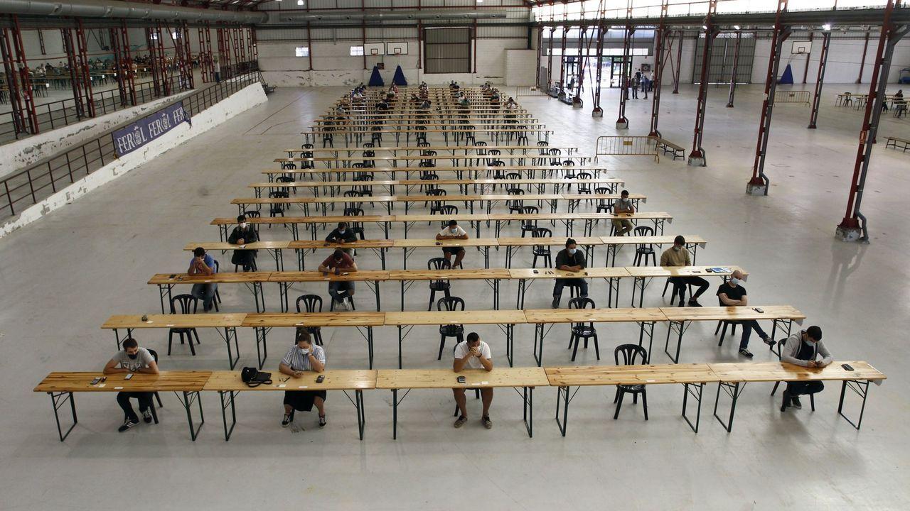 Los exámenes para las plazas de operarios y empleados se celebraron el pasado verano