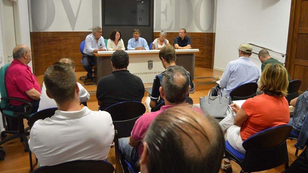 Rueda de prensa de Roberto Sánchez Ramos.Rueda de prensa de Roberto Sánchez Ramos