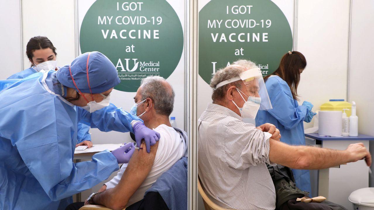 Dosis de la vacuna de Moderna