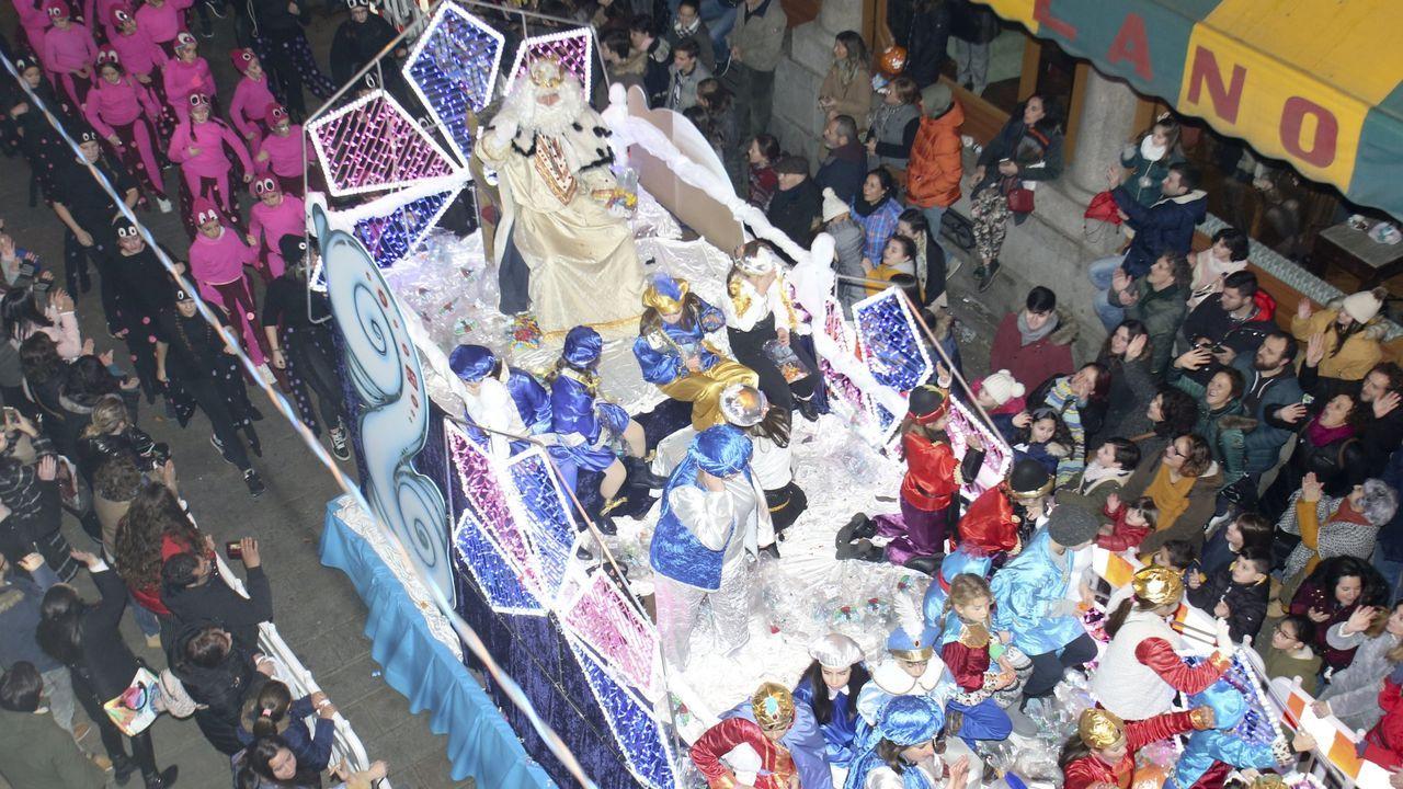La cabalgata de Reyes abarrotó las calles de Ferrol hace solo un año