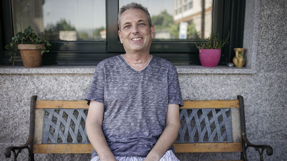 Felipe Balboa continúa con su recuperación en su casa de Ourense