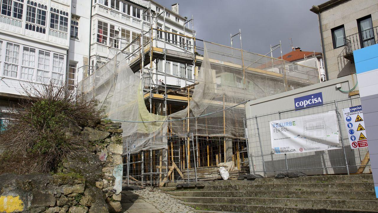 El plan Rexurbe se ha estrenado en Ferrol Vello con la construcción de un edificio en el 1 de la calle Argüelles