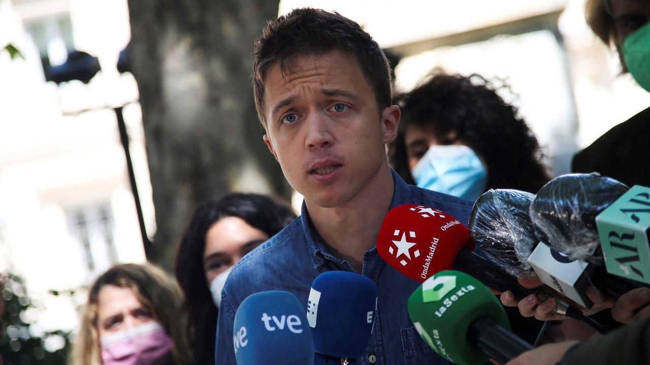 El portavoz de Más País, Íñigo Errejón