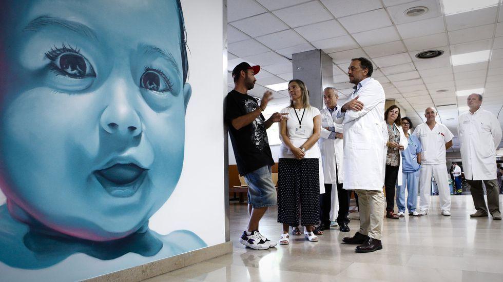 Área de pediatría del CHUO