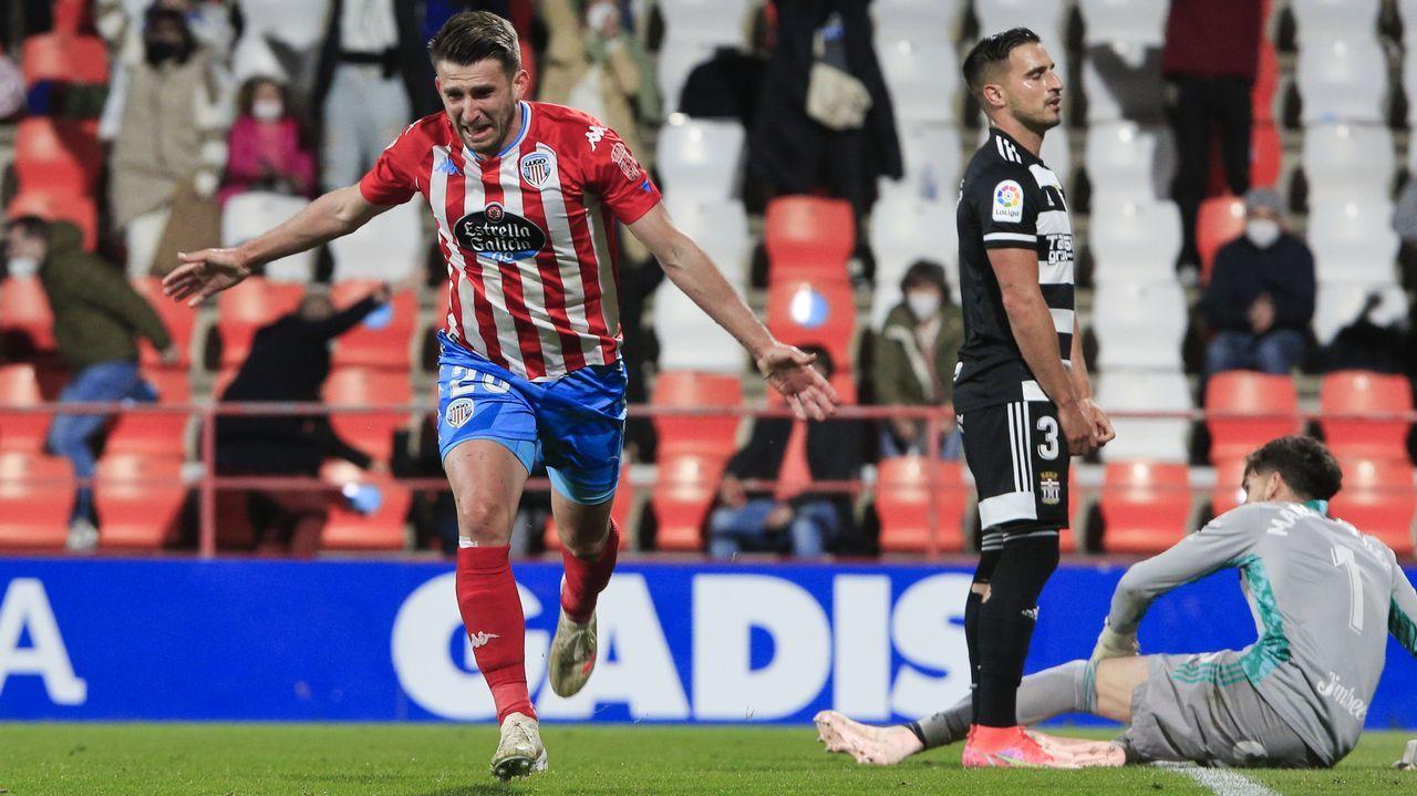 Así vivió el Puebla el partido contra el Xallas, el último encuentro de la temporada.Arnoia