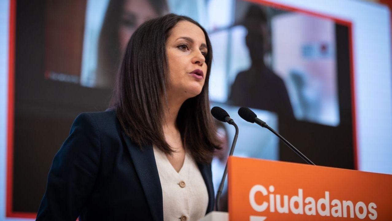 Inés Arrimadas, presidenta de Ciudadanos