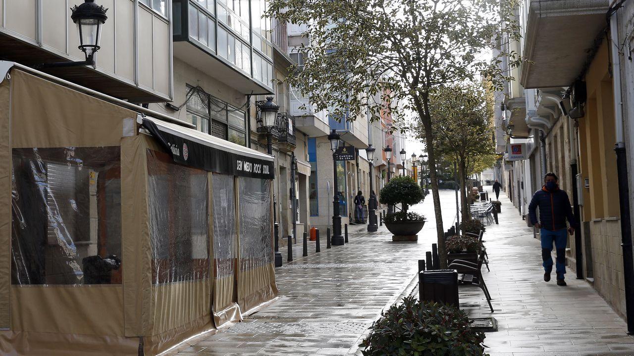 Imagen de archivo de una calle de Porto do Son