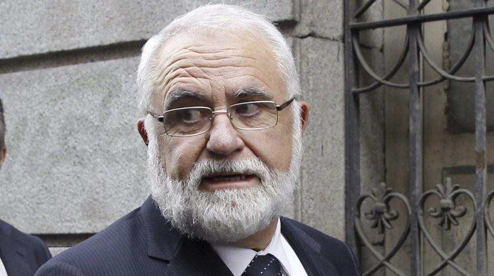 Principales responsables de la trama Gürtel.Anticorrupción pide siete años para el exvicepresidente de la Generalitat, Vicente Rambla (a la izquierda) y el secretario general del PP valenciano, Ricardo Costa, en la imagen en el Parlamento en el 2009.