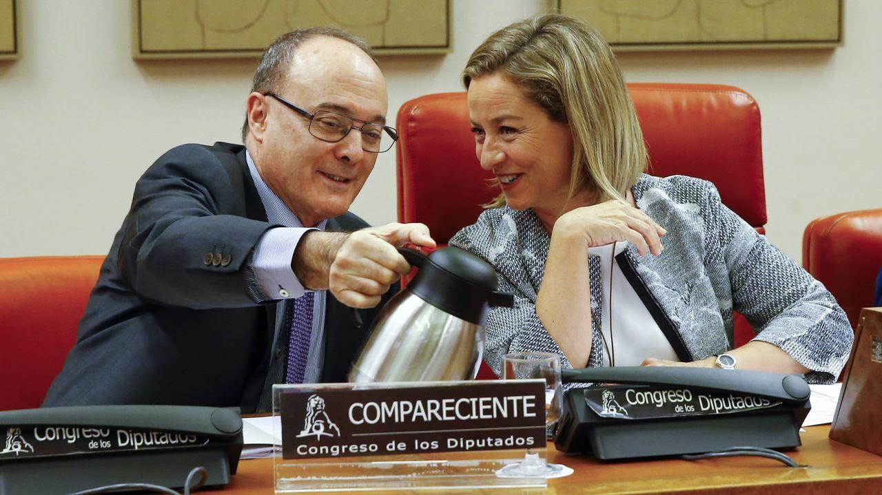 El gobernador del Banco de España advierte «problemas serios» en las pensiones.El gobernador del Banco de España, Luis María Linde