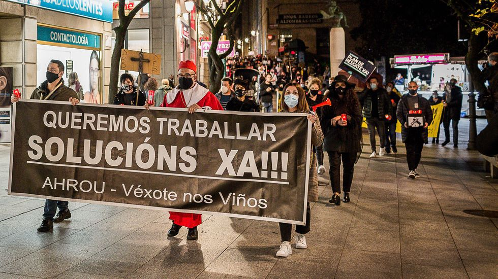 La hostelería está cerrada en Ourense desde el día 7