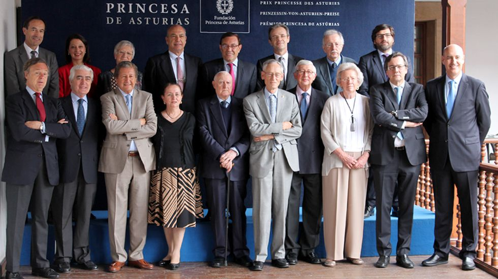 El jurado de Premio Princesa de Asturias de Ciencias Sociales 2017
