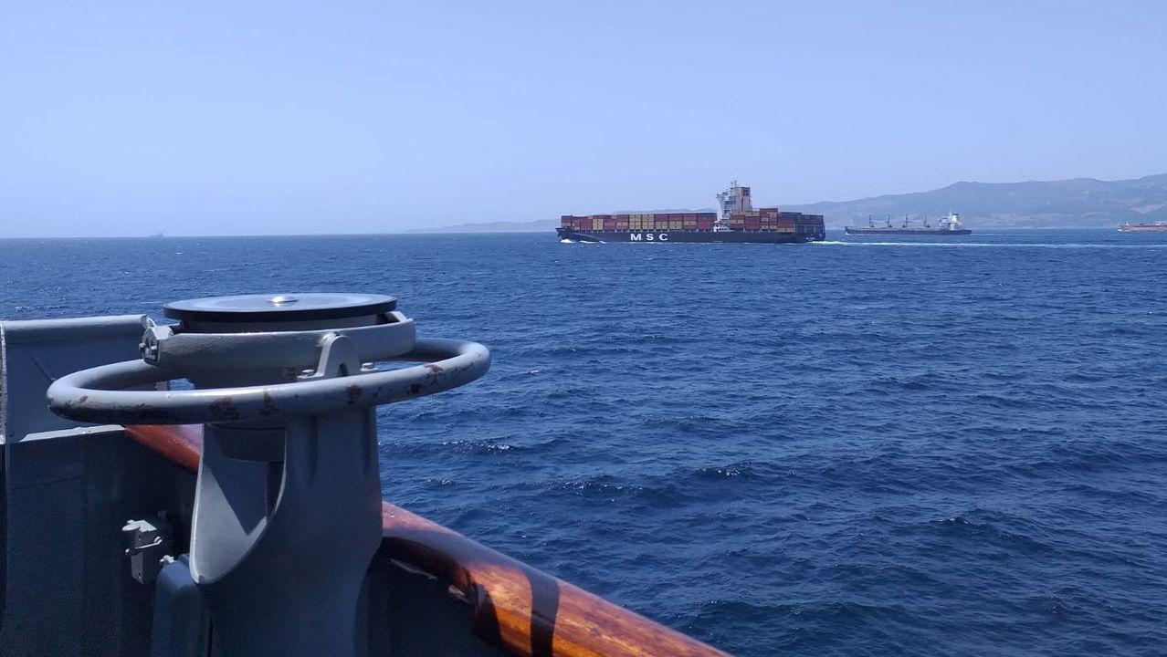 Imagen tomada desde el Serviola en aguas del sur peninsular