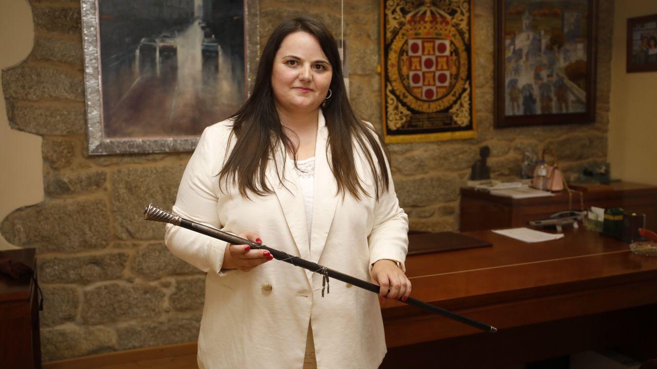 Rocío Seijas, portavoz de Independentes por Monterroso y nueva alcaldesa del municipio