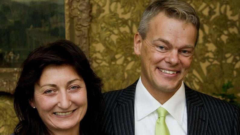May-Britt y Edvard Moser