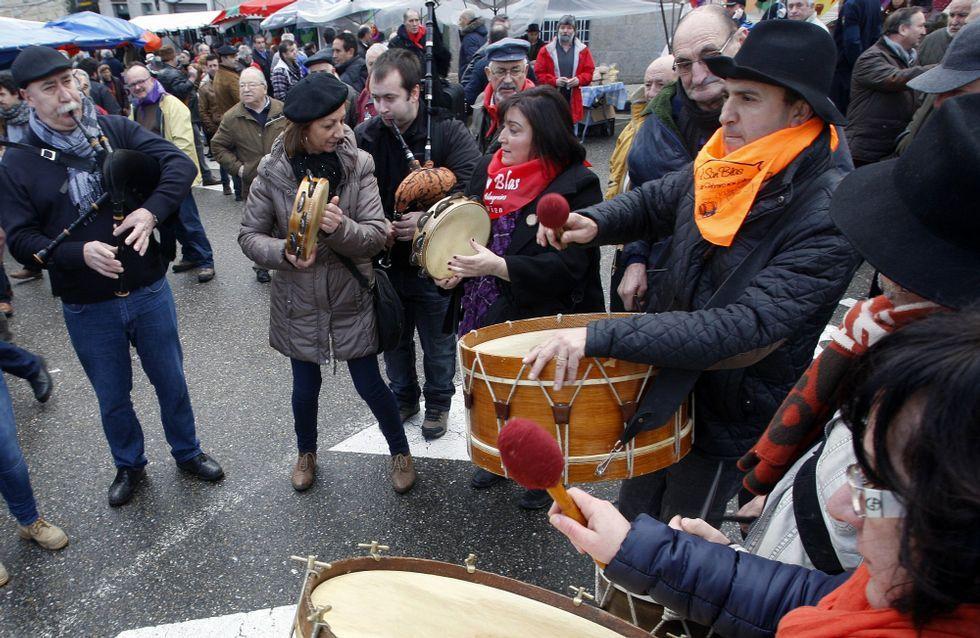 La alegría toma hoy el centro de Bembrive, durante la celebración de la romería de San Blas