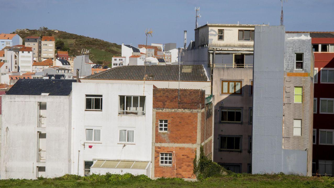 academia.El desorden urbanístico del pasado se refleja en algunas zonas de Malpica