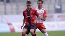 Brandon Thomas, en un partido con el Mallorca