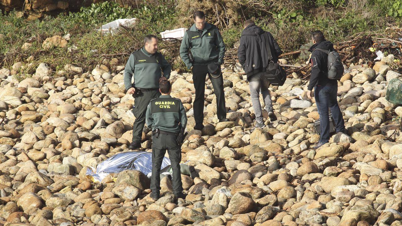 Recuperan el cadáver del joven ecuatoriano desaparecido mientras pescaba