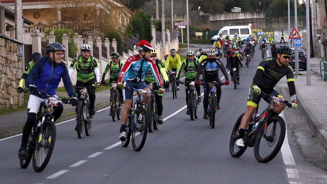 Ruta BTT de Nadal en Ribeira