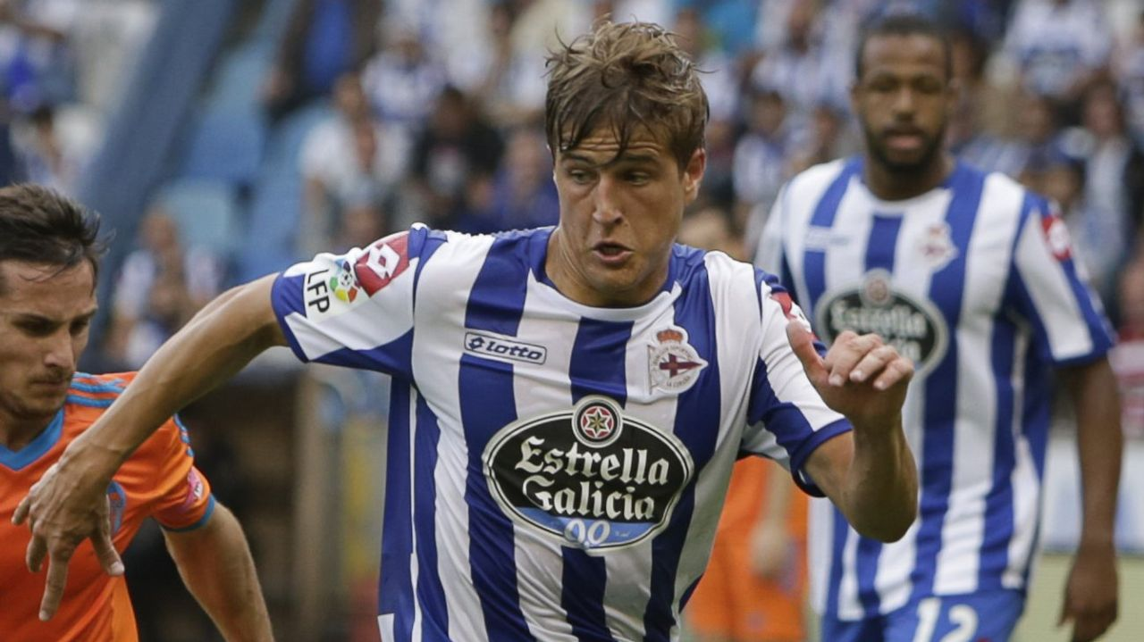 Natxo González, en un partido con el Zaragoza
