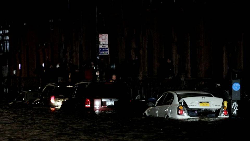 El paso del Sandy, en directo
