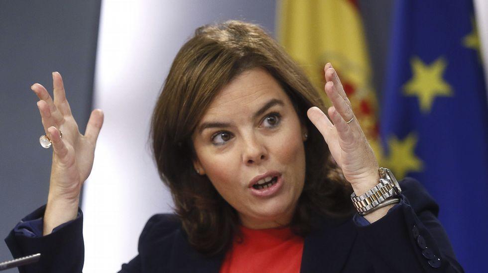 Cristina González: «No sabemos nada de él».El presidente colombiano, Juan Manuel Santos, habla con la jefa de la diplomacia de la UE, Federica Mogherini.