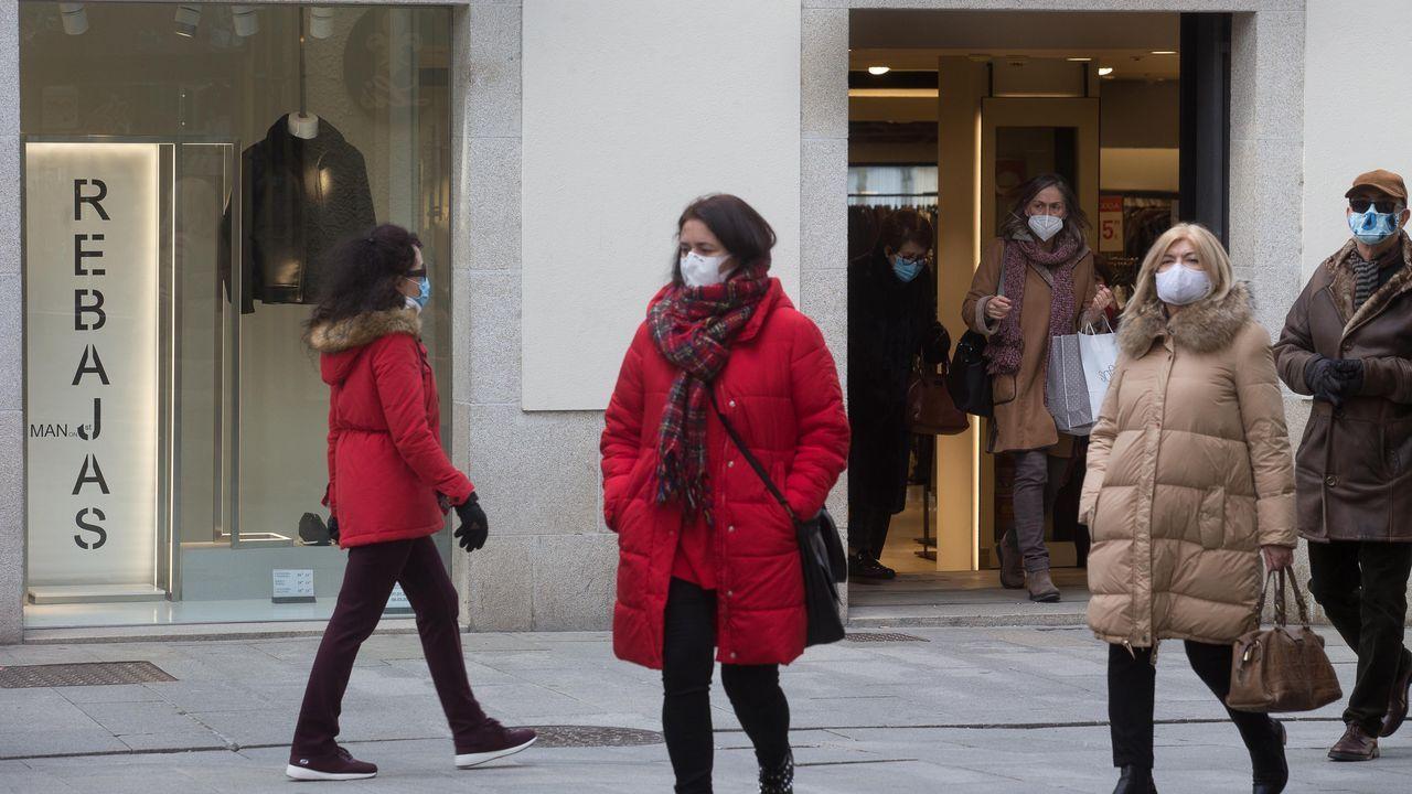 El municipio de Lugo roza los 200 casos diagnosticados en los últimos 14 días