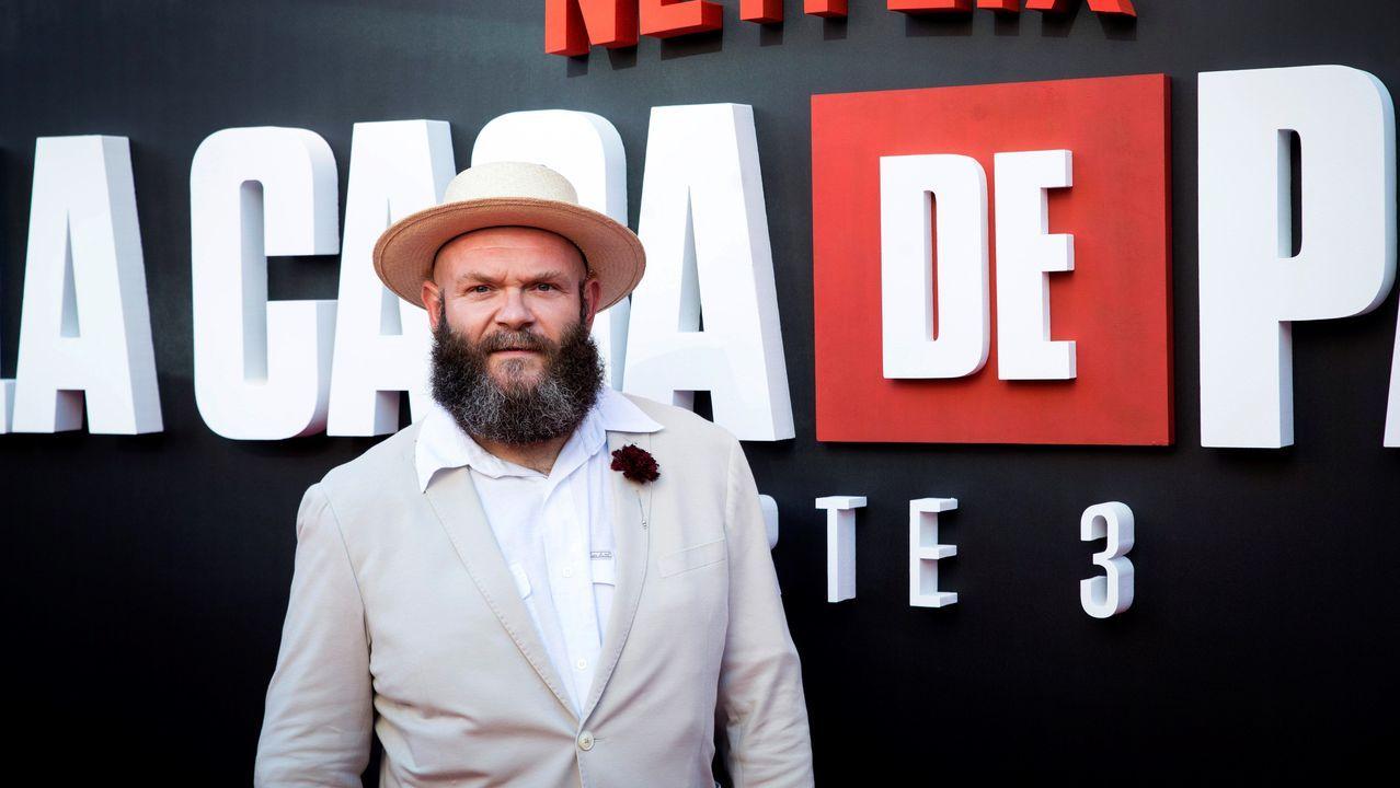 El actor serbio Darko Peric