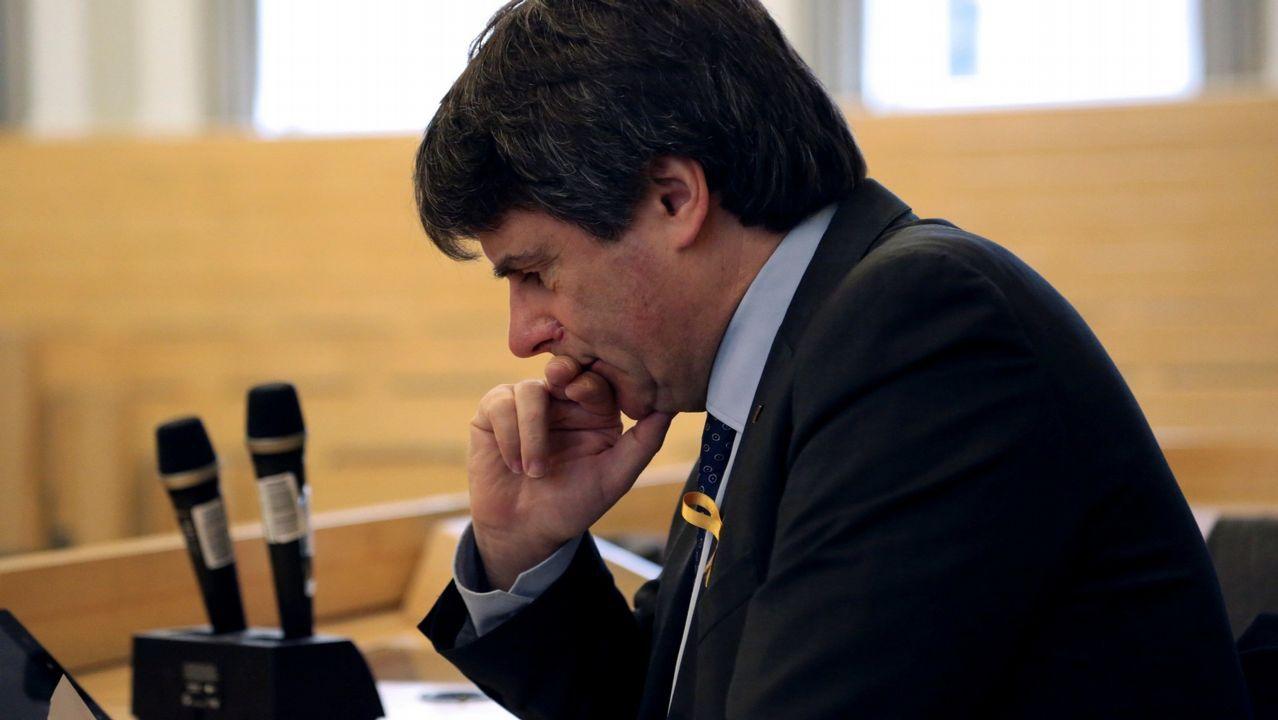 | EFE.Bonvehí critió a ERC y a Torrent por no investir a Puigdemont