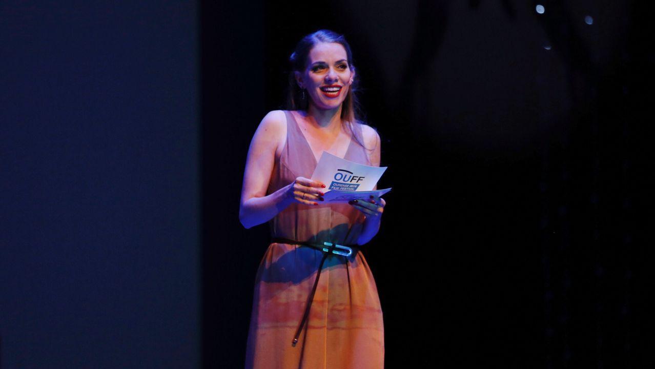 La actriz María Mera fue la encargada de presentar la apertura del OUFF 2019