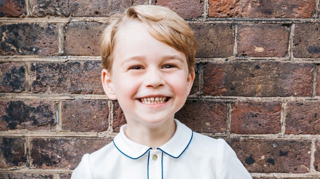 El príncipe George cumple cinco años