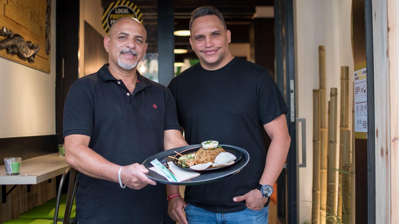 Katta Thai: cocina exótica a cargo de cocineros de Tailandia e Indonesia.Las pruebas PCR permiten descubrir a las personas que están contagiadas