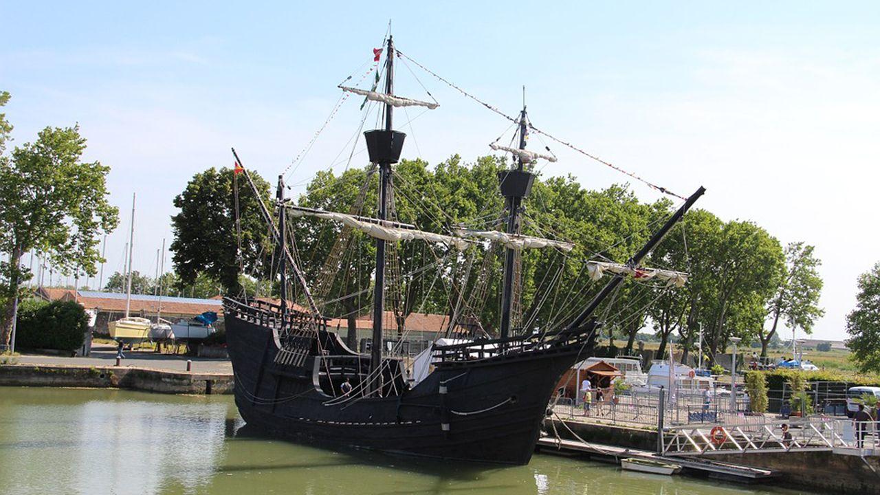 Réplica del barco Nao Victoria